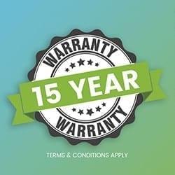 15-year Structural Warranty