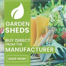 Shop for Garden Sheds | Buy Online