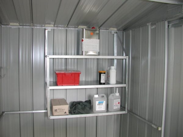 Garden Shed Accessory   3 Tier Shelf