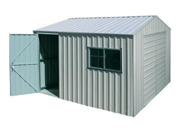 UBild 360 Portal Plus Shed Workshop | Zinc
