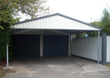 UBild Carport Gable Double