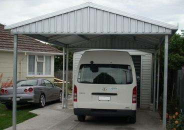 UBild Carport Gable Single