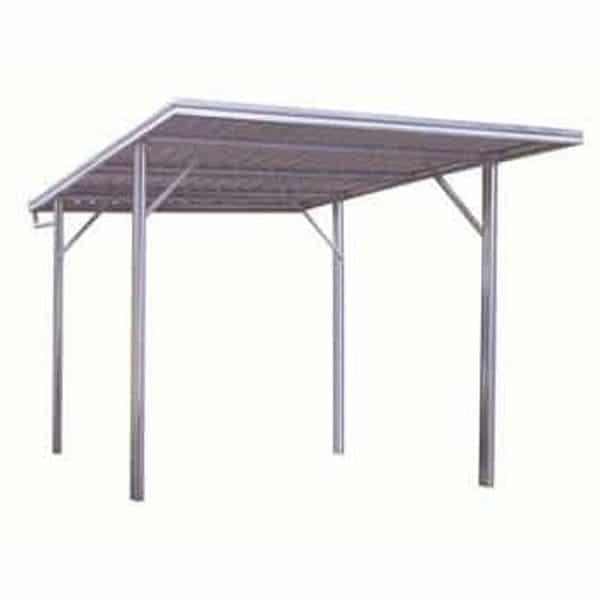 Flat Roof Single Carport | Spanbilt Direct