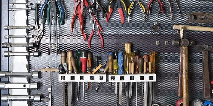 Tool Wall Garden Sheds