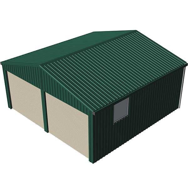 Double Garage 6x6 Caulfield Green | Spanbilt Direct